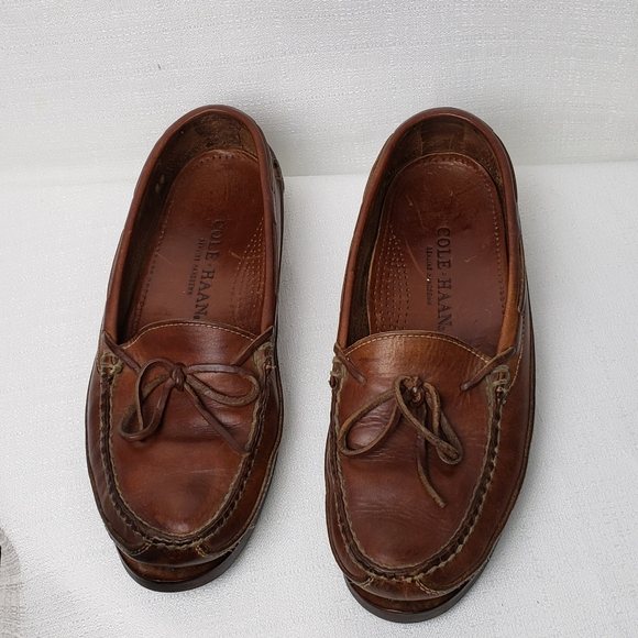 Cole Haan Other - Mens Cole Haan Leather Loafers 8M